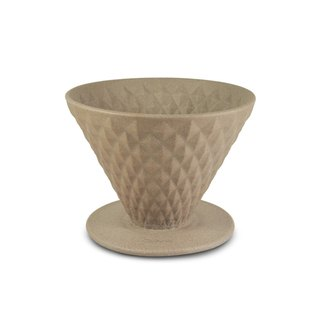 Driver made ceramic filter cup 1-2cup-brown