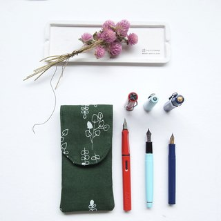 Eternal plant serigraphy pencil pen write music