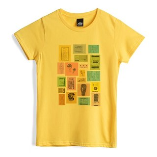 Daily One - Yellow - Female T-Shirt
