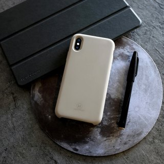 GRITTY | Liquid Silicon Stain Resistant Case for iPhone X - Stone Grey