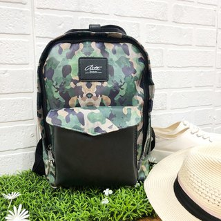 [Summer LOVE Tour 520] Le Tour Series - Loose Heart Bag - S - Leather Camouflage