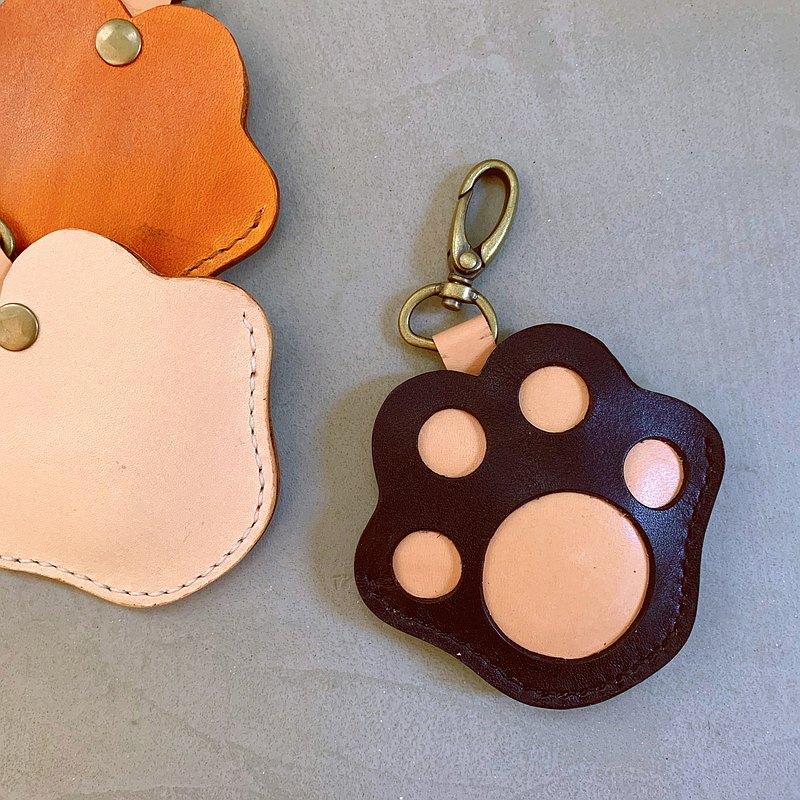 【喵吉】貓掌 GOGORO皮套 _黑色 鑰匙包 鑰匙圈 免費刻字 免運