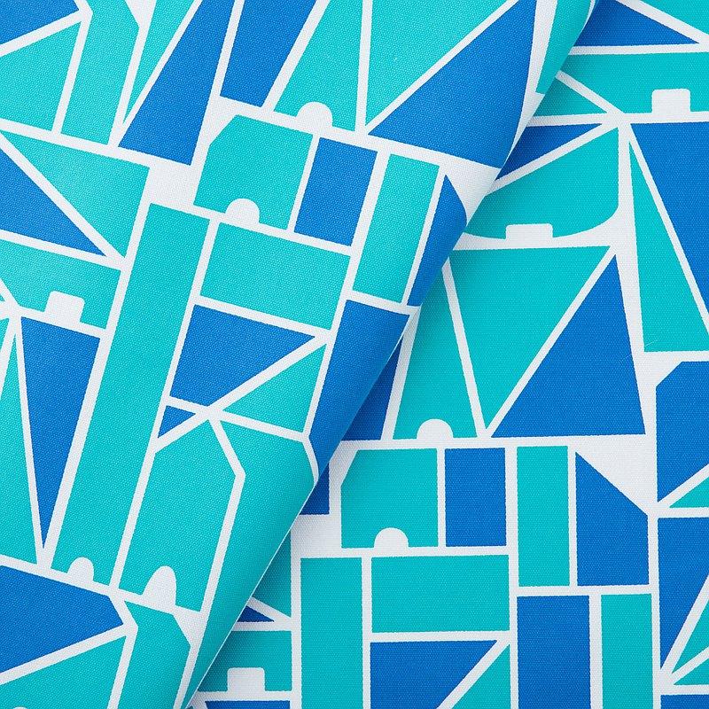 手印棉帆布(滿花)-250g/y/藝術家聯名/印花樂 x LEMONNI/藍調