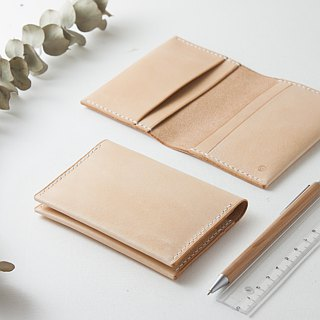 SEANCHY Leather card holder / case / sleeve - *An Original DesignItalian