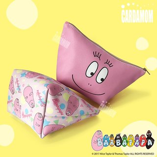 [BARBAPAPA Mr. bubble] practical dumplings cosmetic bag · genuine authorization