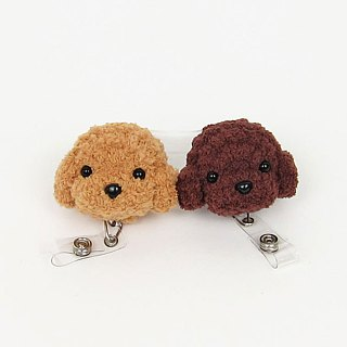Poodle Dog - Retractable Ticket
