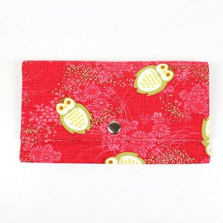 Passbook red envelopes of cash pouch - Owl