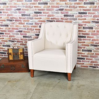 LovCozzie Hulda single armrest wooden foot sofa / master chair