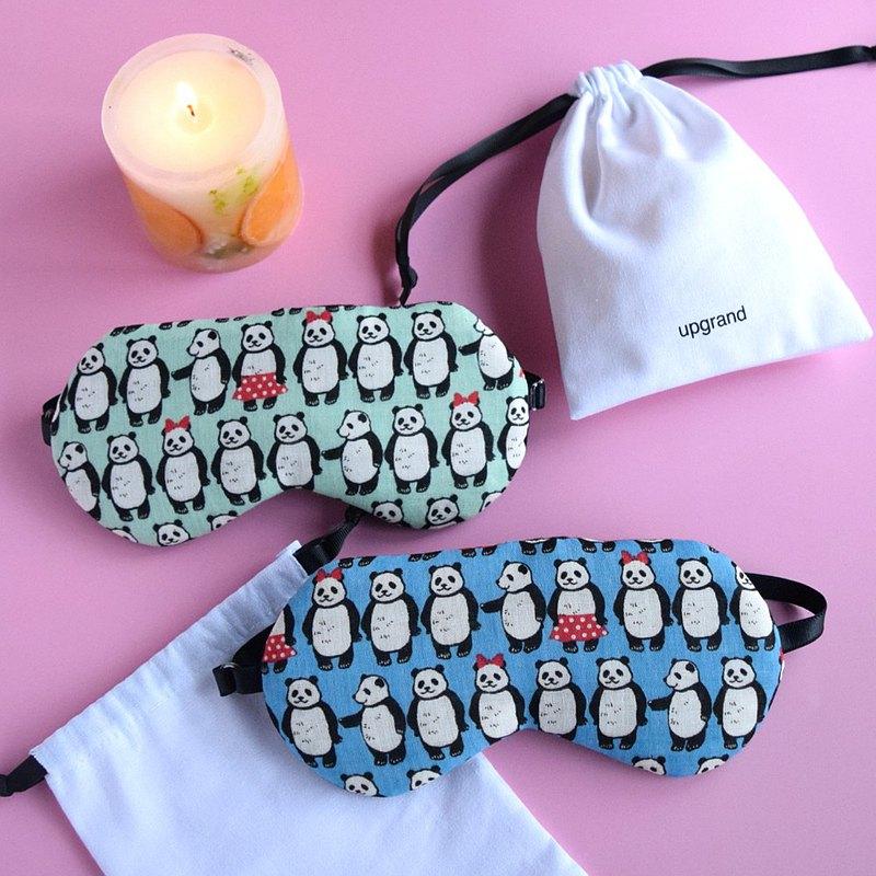幽默大熊貓 Pink/ 眼罩/旅遊/度假/睡眠