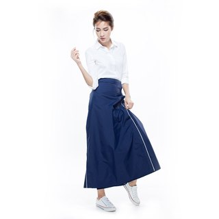 Rainsk rain or shine dual-use a skirt - Midnight Blue