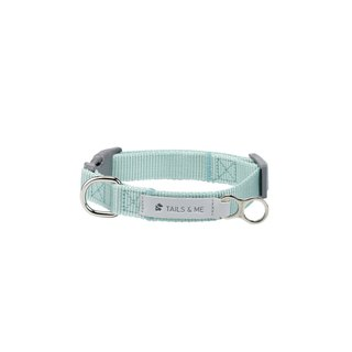 [Tail and me] classic nylon belt collar mint