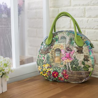 Flower Fairy Series Elliptical Handbag