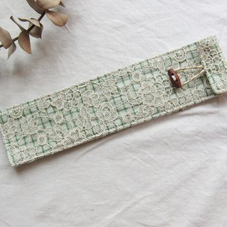 Embroidered  Lace Chopstick Bag