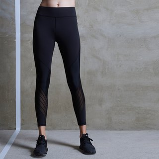 [MACACA] Hip Fixed Wrap Covered Pants - AQE7061 Black
