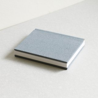 Small Size Sewn Board Bound Notebook – Grey Blue