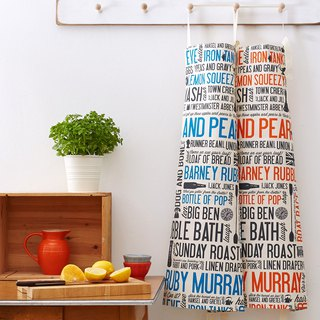 English egg cotton apron East London proverb
