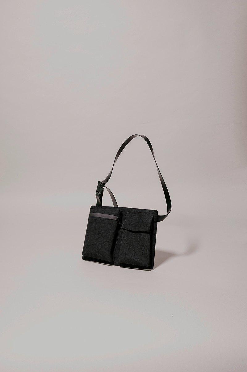|西班牙手工製作| Ölend S.P.U. 1431 斜背包 (Black 黑色)