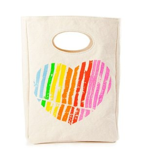 Canada fluf organic cotton environmental protection bag - I love you