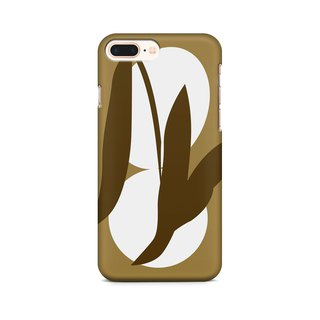 Gold Tea Leaves  - Phone Case