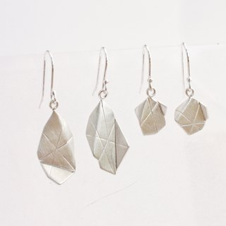 Origami Jewel Earrings