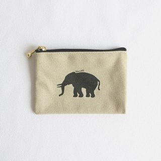 MaryWil little small Green Man purse - small elephant