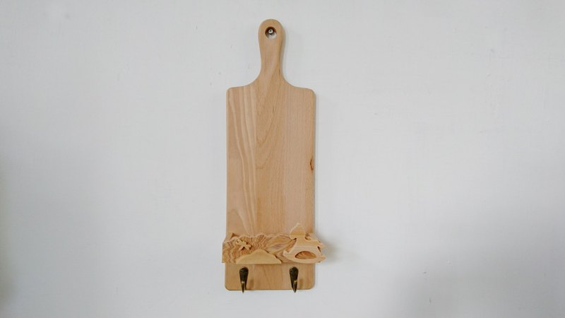 Chopping board rack // childhood memories Trojan