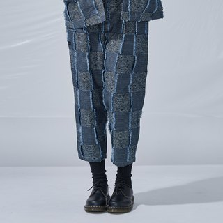 DYCTEAM - Plaid Jacquard Pants