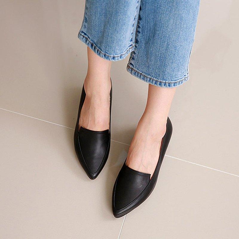 PRE-ORDER韓國人手製 MACMOC Monto BLACK 平底鞋