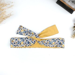 Calf Village Calf Village handmade hair accessories aluminum hairband with a variety of modeling flowers cute Japanese {warm small floral} 【A-244】