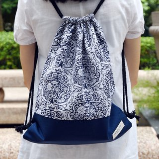 Silverbreeze ~ Bunny Backpack ~ Damask (B80)