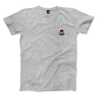 Eye drops - Deep Heather Gray - neutral T-shirt