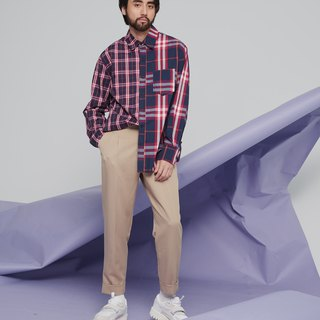 Retro Classic Plaid Shirt 9134