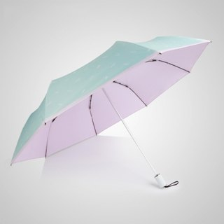 [German Kobold] UV-resistant Hawaiian style - ultra-light shade sunscreen 30 percent umbrella - pink