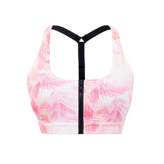 【VIASWEAT】COCO Palmtree Full Zip-UP Sports Bra