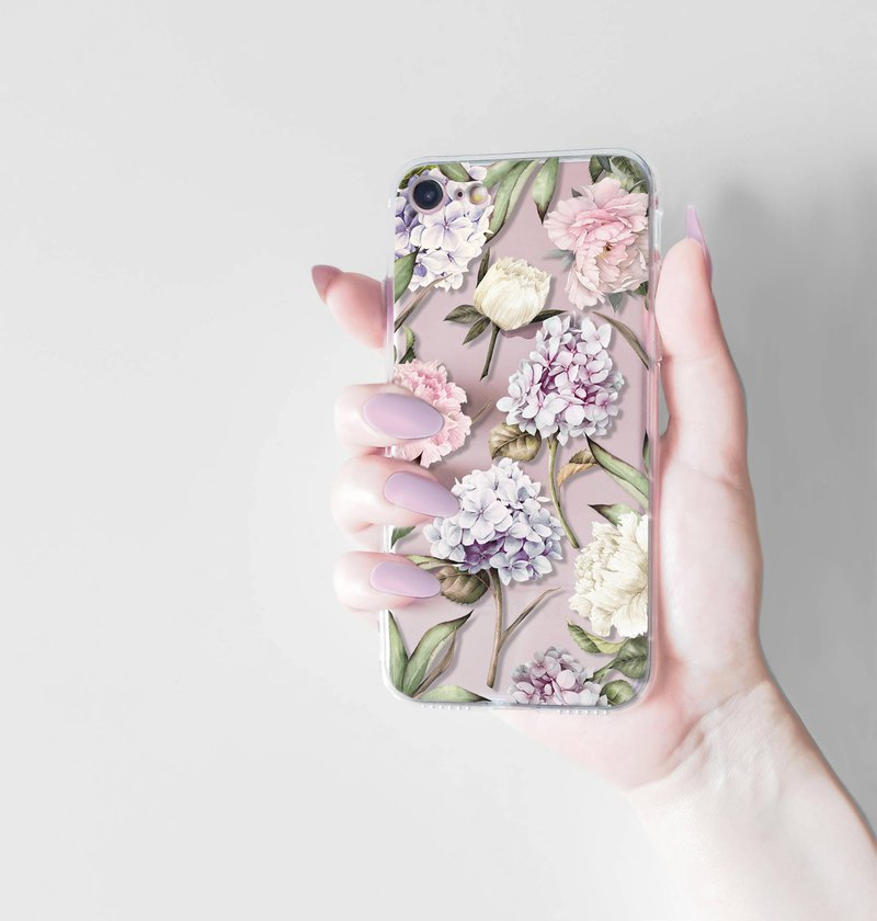 Floral iPhone 8 Case, Spring Phone Cases, Rubber iPhone 8 Case or Hard Plastic