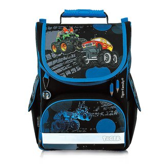 Tiger Family Aristocrat Ultra Lightweight Nursing Schoolbag + Stationery Bag + Pencil Box - Dark Jeep