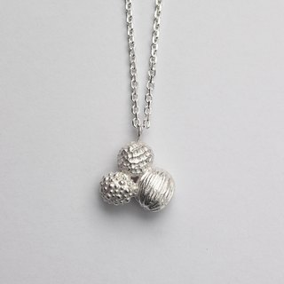 Organism Organism sterling silver necklace