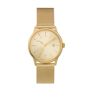 Rawiya gold dial - Golden Milan with adjustable watch
