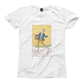 O | The Fool - White - Women's T-Shirt