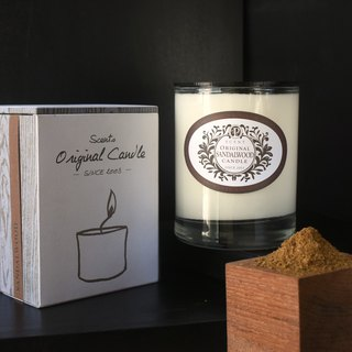 Classic 隽永调│ Sandalwood Jingyuan pure plant soy wax oil candle │ nest footpath