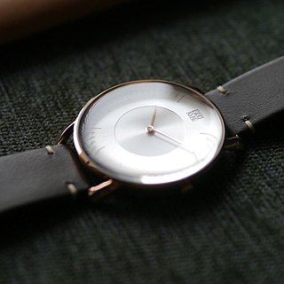SILO 3861 Polar Halo Watch - Rose Gold