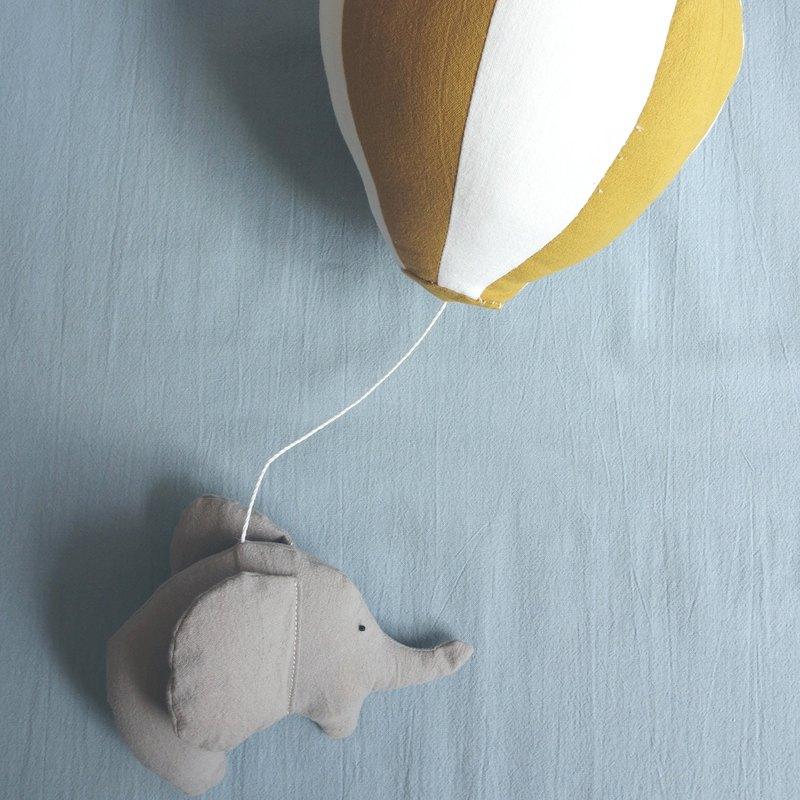 大象熱氣球手作材料包