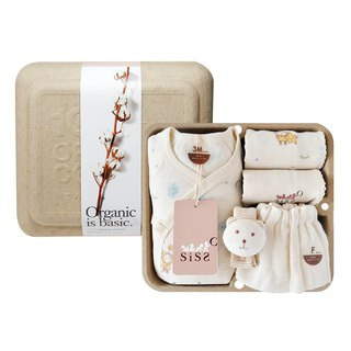 [SISSO Organic Cotton] Cloud Flying Butterfly Gift Box 3M 6M