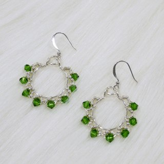 Forest queen earrings