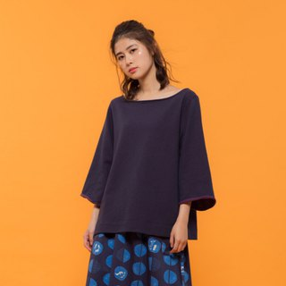 Ideal Life Wide Sleeve Top - Purple