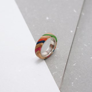 Send wood style ring R0202011