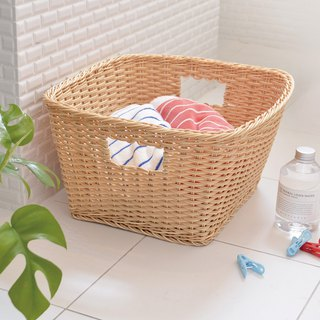 CB Japan Paris series imitation rattan laundry basket M