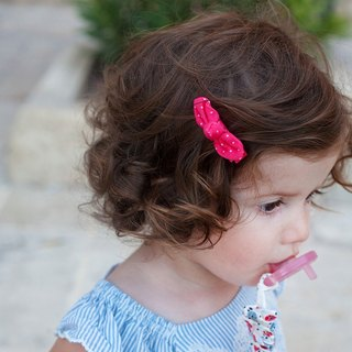 The United States Joli Sophie bow small hairpin 2 into the dark blue floral red and white little JSHC2BFRD