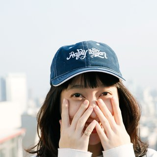 Happy Taiwan Classic Cap - Dark Blue