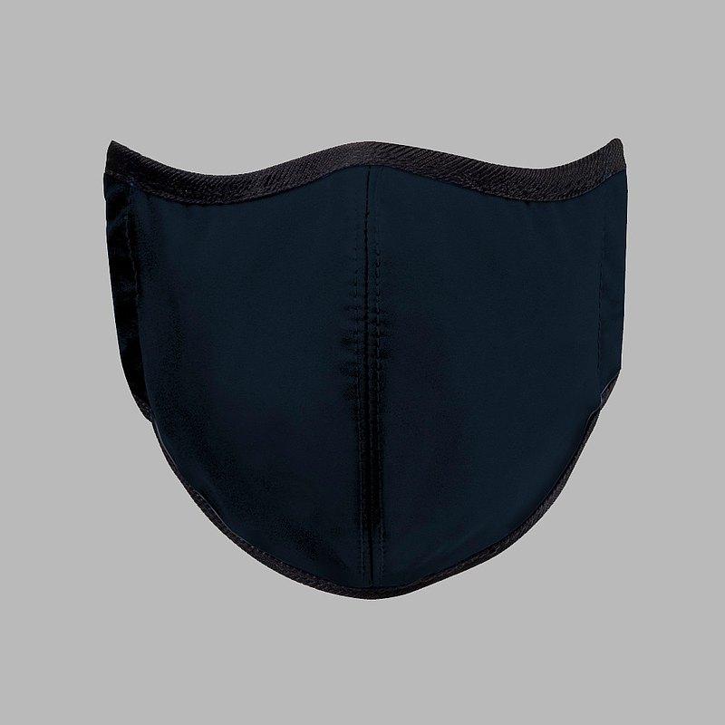 台灣製造MIT 高抗菌透氣可水洗 玩色系列_海軍藍_防護布口罩